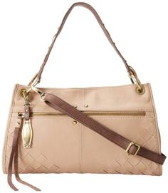 Lucky Brand Diego Foldover Shoulder Bag,Stone