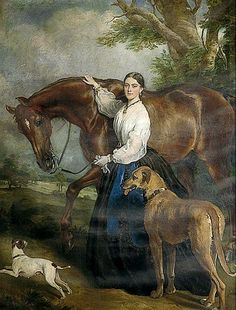 In the Swan's Shadow: Portrait: Mrs. Brassey, 1864