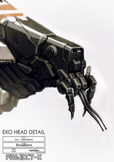 District 9 concept art 1036ExoHeadfinGB.jpg (1500×2122)