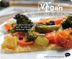Auch bei Billa gab es Pizza, aber mit Blätterteig. Tolle Idee!