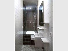 """Une """"vraie"""" salle de bains aménagée dans 3m2 (suite) - Reportage salle de bains"""