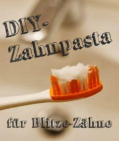 DIY Zahnpasta