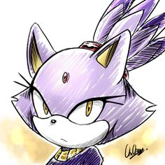 (Sonic): Blaze the cat Sonic The Hedgehog, Silver The Hedgehog, Game Character, Character Design, Hedgehog Drawing, Rouge The Bat, Sonic Fan Art, Comic Pictures, Miraclous Ladybug