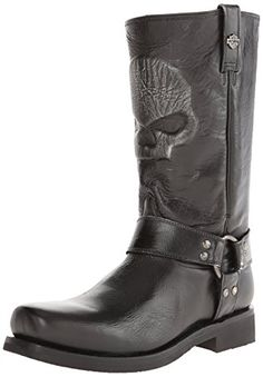 Harley-Davidson Men's Quentin Motorcylce Harness Boot