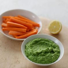 Green Pea and Mint Dip Recipe