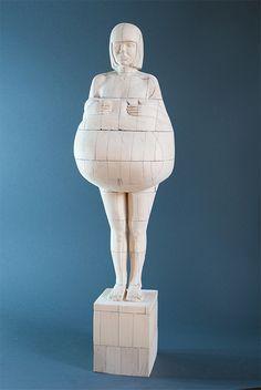 #woodsculpture #sculpture Wood Sculpture Dmitriy Ivanenko