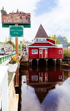 """""""Kennebunkport, Maine"""" by John Apsey Photography New England States, New England Fall, New England Travel, Road Trip Usa, Maine Road Trip, Usa Roadtrip, East Coast Travel, East Coast Road Trip, Rhode Island"""
