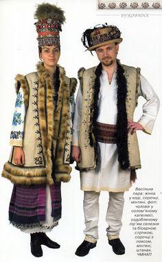 FolkCostume&вышивки: костюм и вышивка Буковины, Украины, частью 2 khlopianka