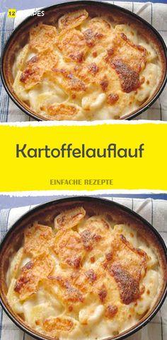Kartoffelauflauf - New Site Allrecipes, Zucchini, Food And Drink, Potatoes, Tasty, Snacks, Vegan, Chicken, Fitness Workouts