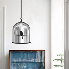 Birdcage wall sticker!