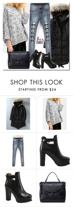 """""""Sweater & Boots"""" by andrea2andare ❤ liked on Polyvore"""