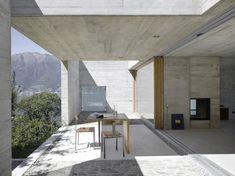 casa a sant' abbondio | terrace ~ wespi romeo de meuron architects