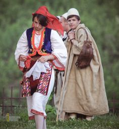 The people of Kosovo in their traditional dresses - Azem's Image