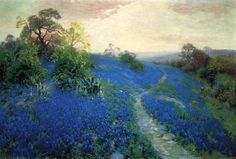Bluebonnet Field, Robert Julian Onderdonk.