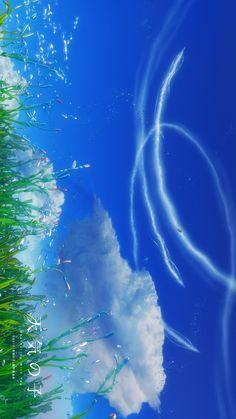 Tenki no ko Anime Backgrounds Wallpapers, Anime Scenery Wallpaper, Anime Artwork, Fantasy Artwork, Animes Wallpapers, Wallpaper Paisajes, Anime Life, Anime Films, Fantasy Landscape
