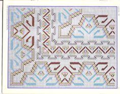 Punto Yugoslavo - Vagonite pattern Salvo de mispasionespassiflora.blogspot.com