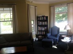 The living room of Park Annex - perfect for movie watching or group study sessions.