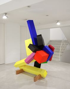 Joel Shapiro Triumphs at Galerie Karsten Greve Cologne Metal Sculpture Artists, Art Sculpture, Steel Sculpture, Geometric Sculpture, Abstract Sculpture, Joel Shapiro, Miller Welding Helmet, Welding Art Projects, Metal Welding