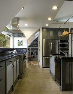 küche design ideen dekoration mit wellblech möbel