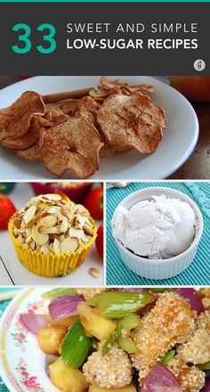 You'd never guess these sweet dishes have no added sugars! #sugar #dessert #healthy