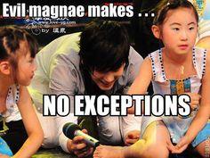 Evil maknae =))) Never change #Kyuhyun