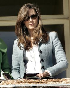 Pin for Later: 33 Hairstyles That Prove Kate Middleton Is the Princess of Good Bangs 2007 At the Cheltenham Festival in March 2007.