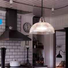 Amazon.co.jp: (北欧スウェーデン/マークスロイド)モダンデザイン照明 アスネン・ASNEN(ペンダントライト クリア): ホーム&キッチン