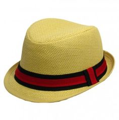 Boys Fedora Hat with Colored Band