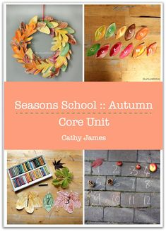Autumn thematic unit for fall homeschool curriculum Autumn Activities For Kids, Fall Crafts For Kids, Autumn Crafts, Spring Crafts, Seasons Lessons, Leaf Coloring, Wreath Crafts, Winter Theme, Creative Kids