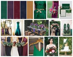 A jewel toned wedding theme decor ideas jewel tone - Jewel tones color palette ...