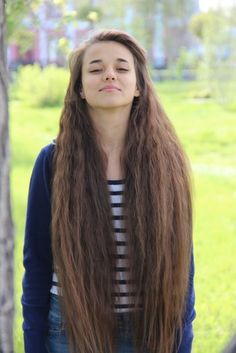 I want ridiculously long hair