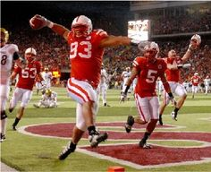 Ndamukong Suh touchdown! I will always bleed Husker red!
