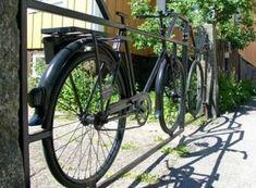 Bicycle Repurposed as gate