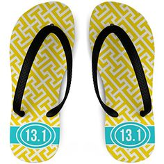outlet store 21646 2cdb4 Amazon.com   Running Flip Flops Tread Pattern With Ribbon 13.1   Sport  Sandals   Slides