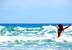 I want to be in the water, breeze in my hair, and sun on my skin.