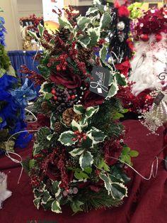 Christmas Tree Decor at the Fresno Fall Home Improvement Show, November 8,9,10, 2014