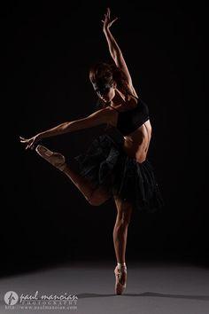 Ballet dancer model photography