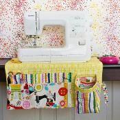 Sewing Machine Apron - via @Craftsy