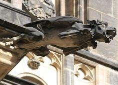 Prague Castle Dragonette Gargoyle