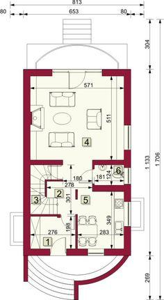 Rzut ARG Lugano CE Lugano, House Plans, Floor Plans, Flooring, How To Plan, Houses, House Floor Plans, Hardwood Floor, Floor