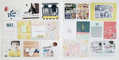 SO inspired by this PL spread | PL2014 // May 05 - 11 (WK19) by bckueser at @Studio_Calico