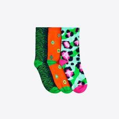 Three-pack socks, £19.99