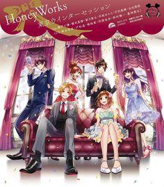 """""""The ending is sung by Tokyo Winter Session feat. Yu Setoguchi (VA: Hiroshi Kamiya), Natsuki Enomoto (Haruka Tomatsu), Sota Mochizuki (Yuki Kaji), Akari Hayasaka (VA: Kana Asumi), Haruki Serizawa (VA: Kenichi Suzumura), Mio Aida (VA: Aki Toyosaki)."""" Itsudatte Bokura no Koi wa 10 cm Datta Anime"""