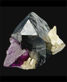 Galena, Barite, Fluorite / Elmwood mine, Carthage, Tennessee
