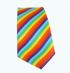 Gay Pride Ties from www.rainbowdepot.com https://www.rainbowdepot.com/Belts-Ties-Suspenders_c_22.html #gaypride #rainbowdepot #pride #necktie #bowtie #rainbow