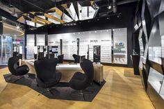 Trendy by Vision Express optician saloon in Lodz by EMKWADRAT Architekci