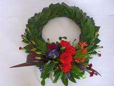 Traditional ANZAC Wreath