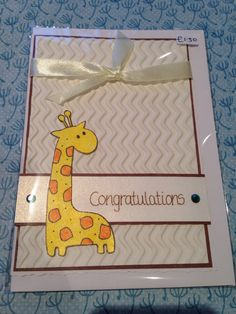 New Baby Card :)