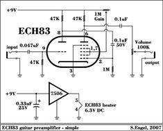 Engel Sound Experiment - Préamplificateur à tubes Valve Amplifier, Audio Amplifier, Audiophile, Electronic Circuit Projects, Electronic Engineering, Hobby Electronics, Electronics Projects, Power Supply Circuit, Ham Radio Antenna