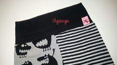 Olgaxgu Hecho a mano: Pantalon Straigh Stripes